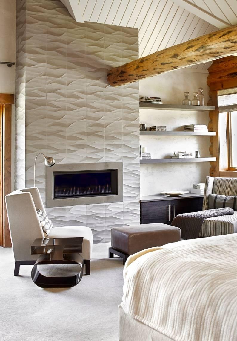 porcelain tile fireplace houzz