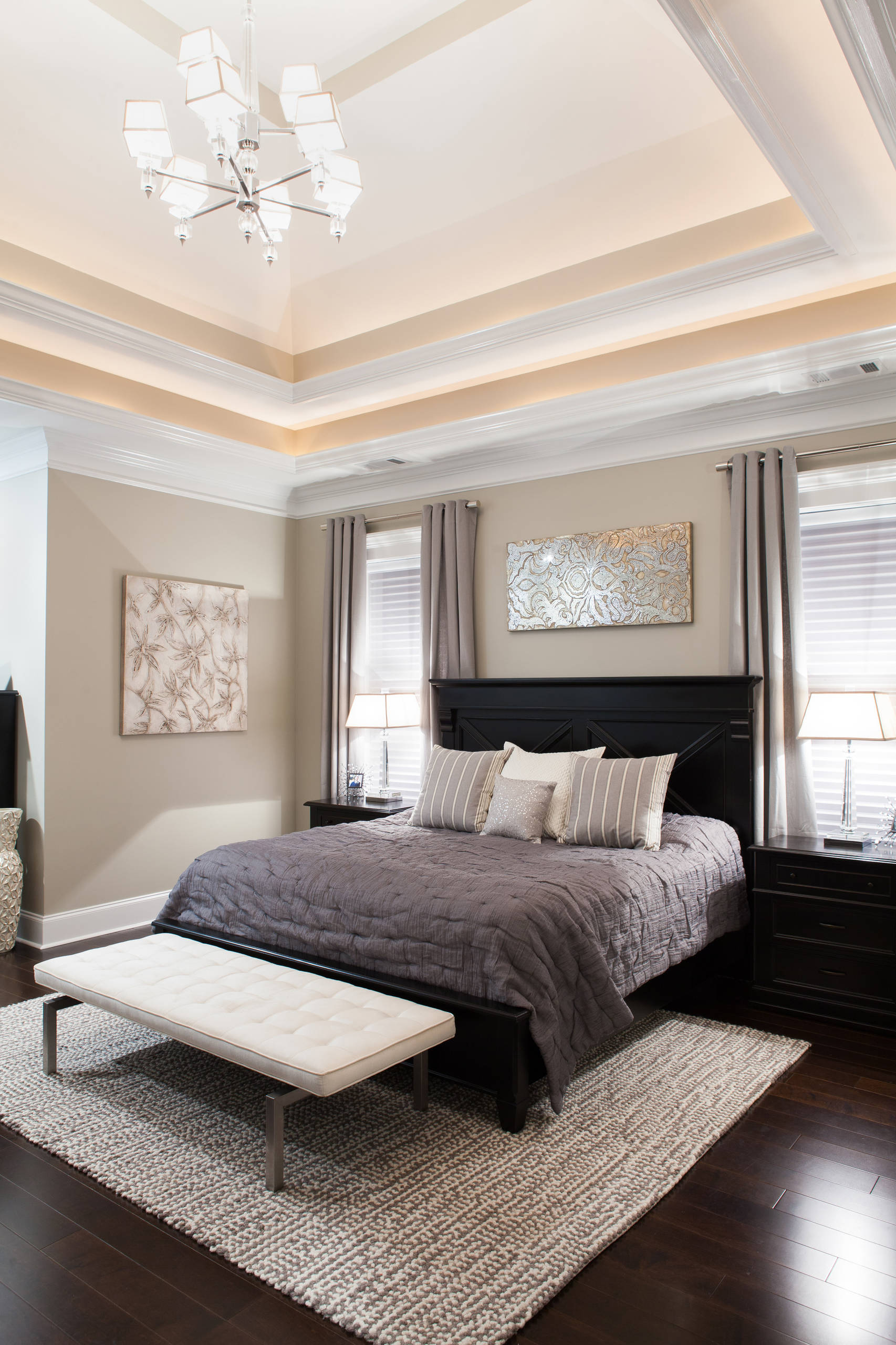 Silver Grey Bedroom Ideas And Photos Houzz