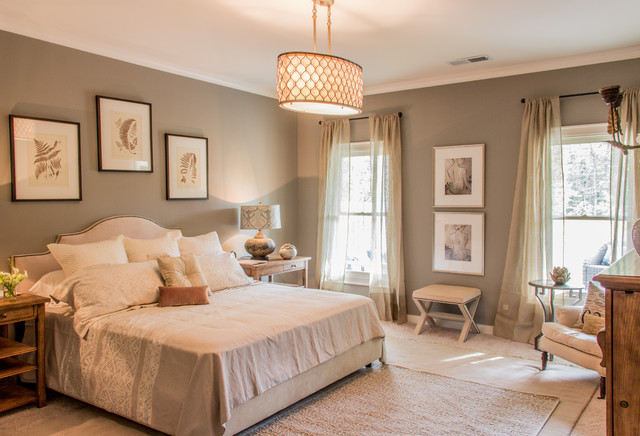 I dettagli del design della camera da letto. Provence Transitional Bedroom Birmingham By Signature Homes Houzz