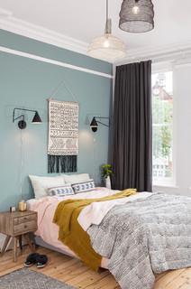 Duck Egg Blue Bedroom Ideas And Photos Houzz