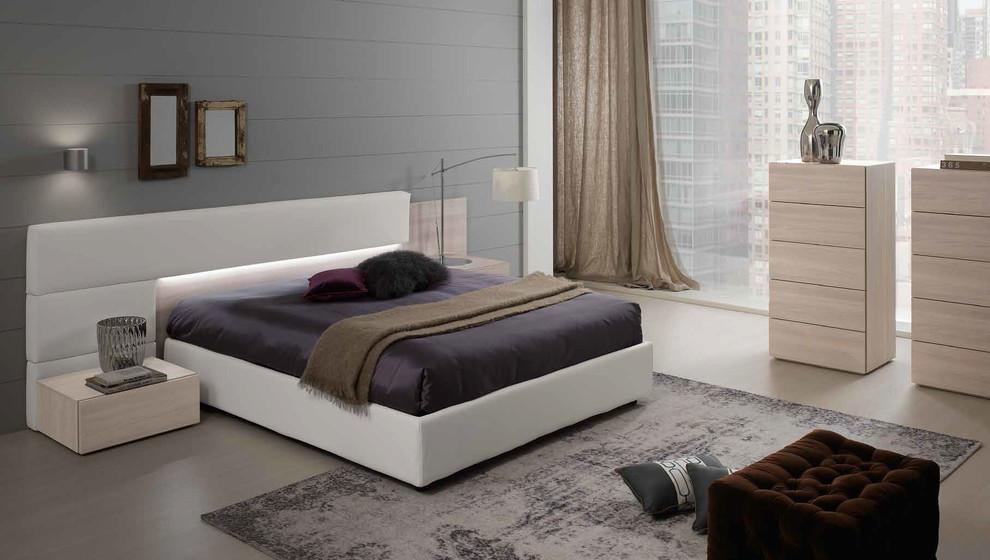 spar modern italian platform bed