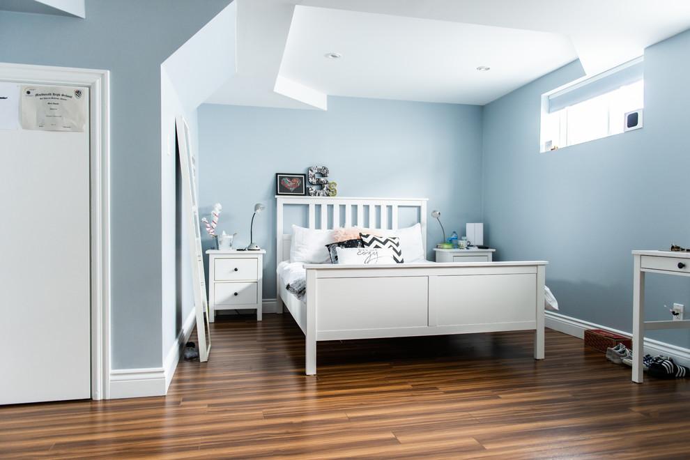 TEEN ROOM BASEMENT (Part of Whole Home Design & Renovation ... on Teenager Basement Bedroom  id=27144