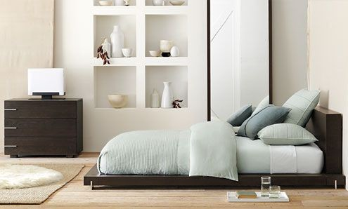 west elm contemporary bedroom other