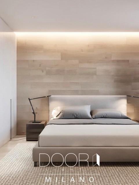Scopri l'arredamento camera da letto made in italy per arredare con stile la casa. Camera Da Letto Moderna Modern Bedroom By Door Light Milano Houzz