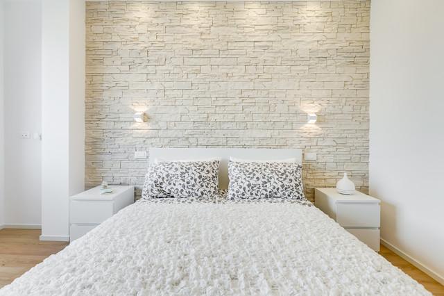 La camera da letto è la stanza che più riflette la nostra essenza, è il luogo di relax, quello più intimo. Don Bosco Minimal Design 80 Mq Contemporary Bedroom Rome By Ef Archidesign Houzz