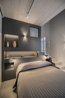 Delle idee per la camera da letto moderna sicuramente non mancano, ma trovare quella giusta per la tua casa può spesso rivelarsi una sfida. Camera Da Letto Moderna Design Foto E Idee Per Arredare Settembre 2021 Houzz It