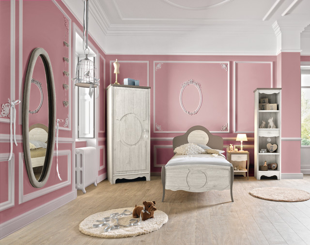 chambre demoiselle classique chic