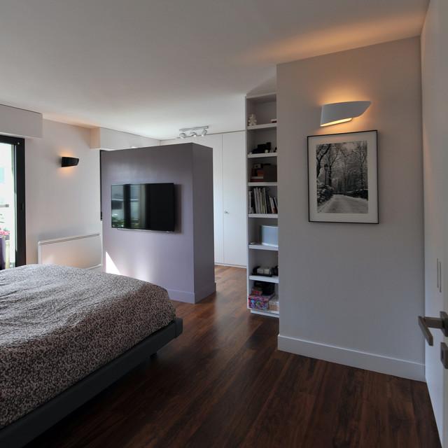 salle de bain epuree minimalistisch