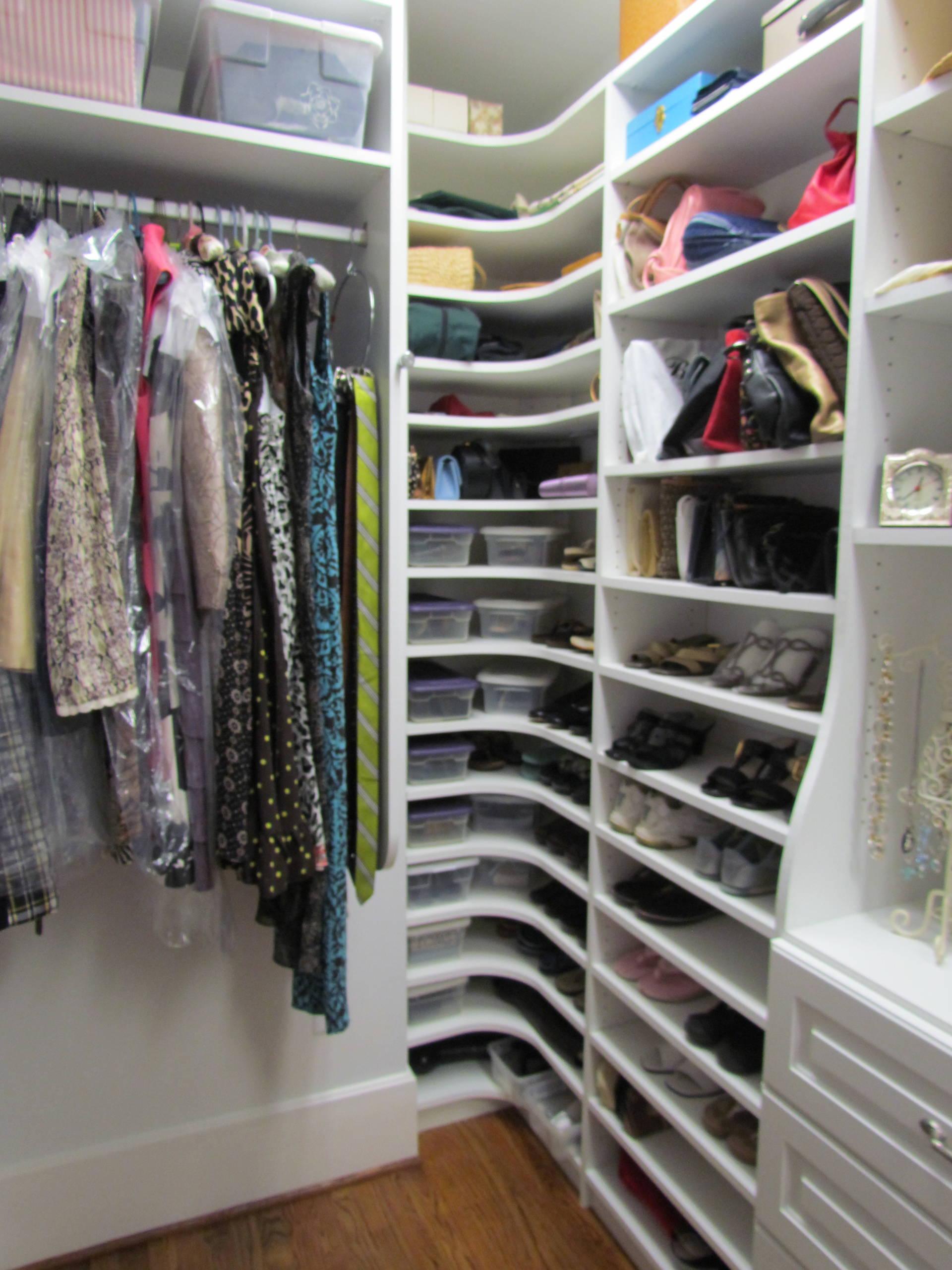 Blind Corner Closet Solution Houzz