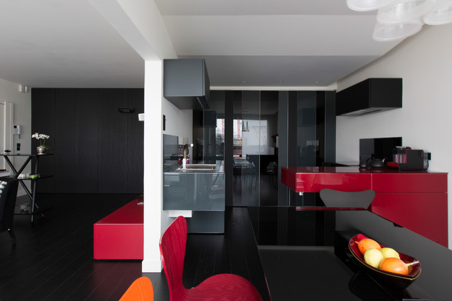 cuisine salon et chambre thematique