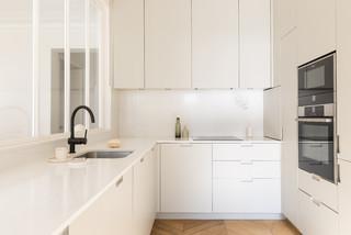 Credence De Cuisine En Carrelage Blanc Photos Et Idees Deco