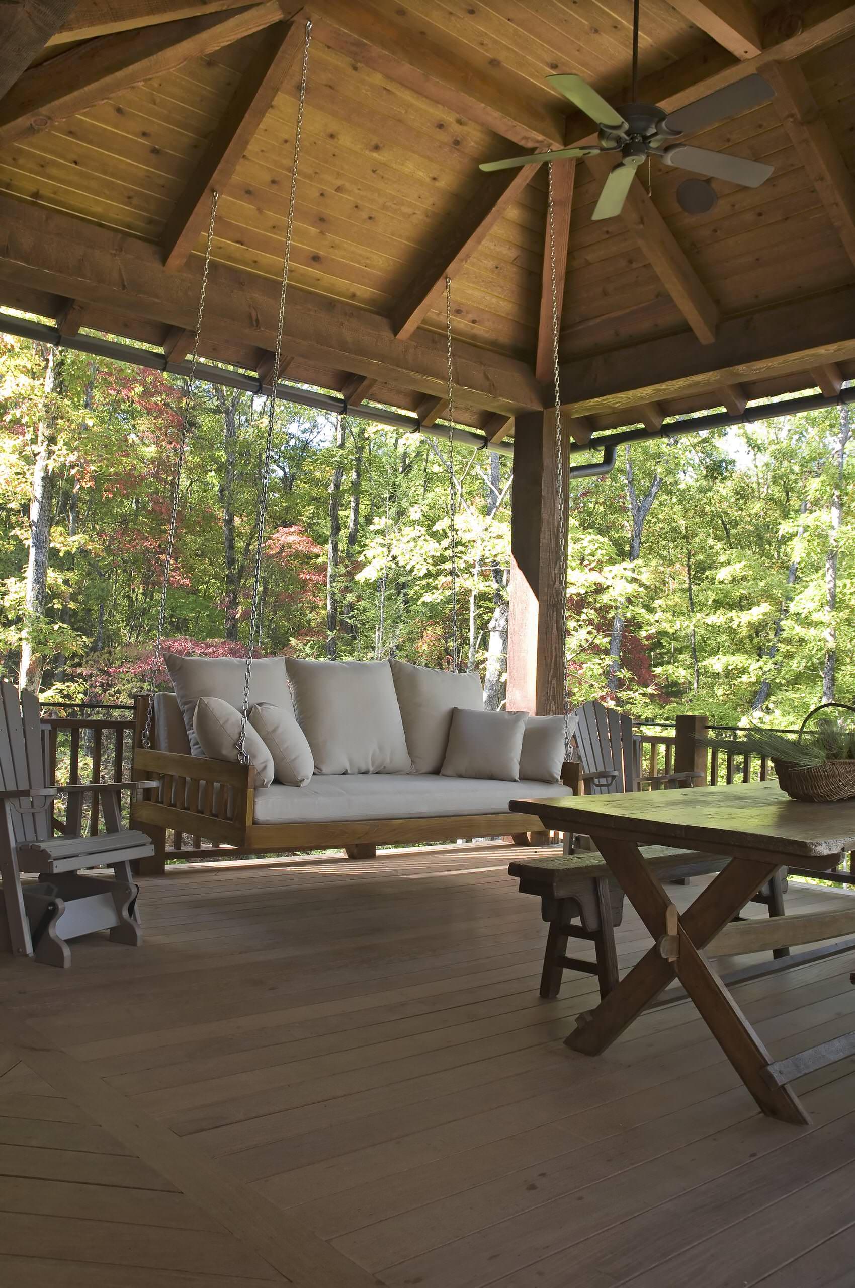azalea ridge rustic deck other