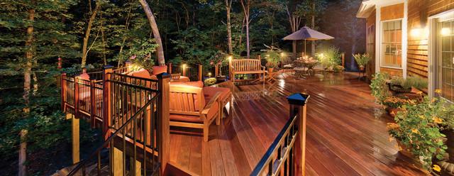 deck patio lanai lighting coastal