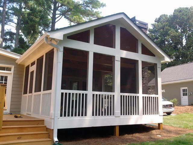 Outdoor Living Spaces - Traditional - Deck - Atlanta - by ... on Houzz Outdoor Living Spaces id=48614