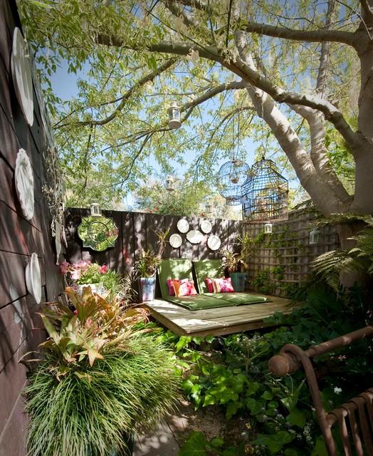 Come la realizzazione in foto dimostra, anche un balcone piccolo può offrire la possibilità di creare uno spazio perfettamente arredato e dal sapore retrò. 15 Spazi Esterni Piccoli E Di Design