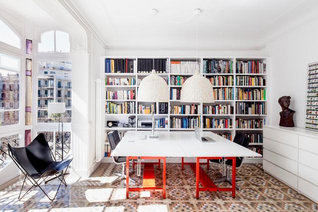 Di gabriella carosella su pinterest. 8 Modi Originali Di Usare La Famosa Libreria Billy Di Ikea