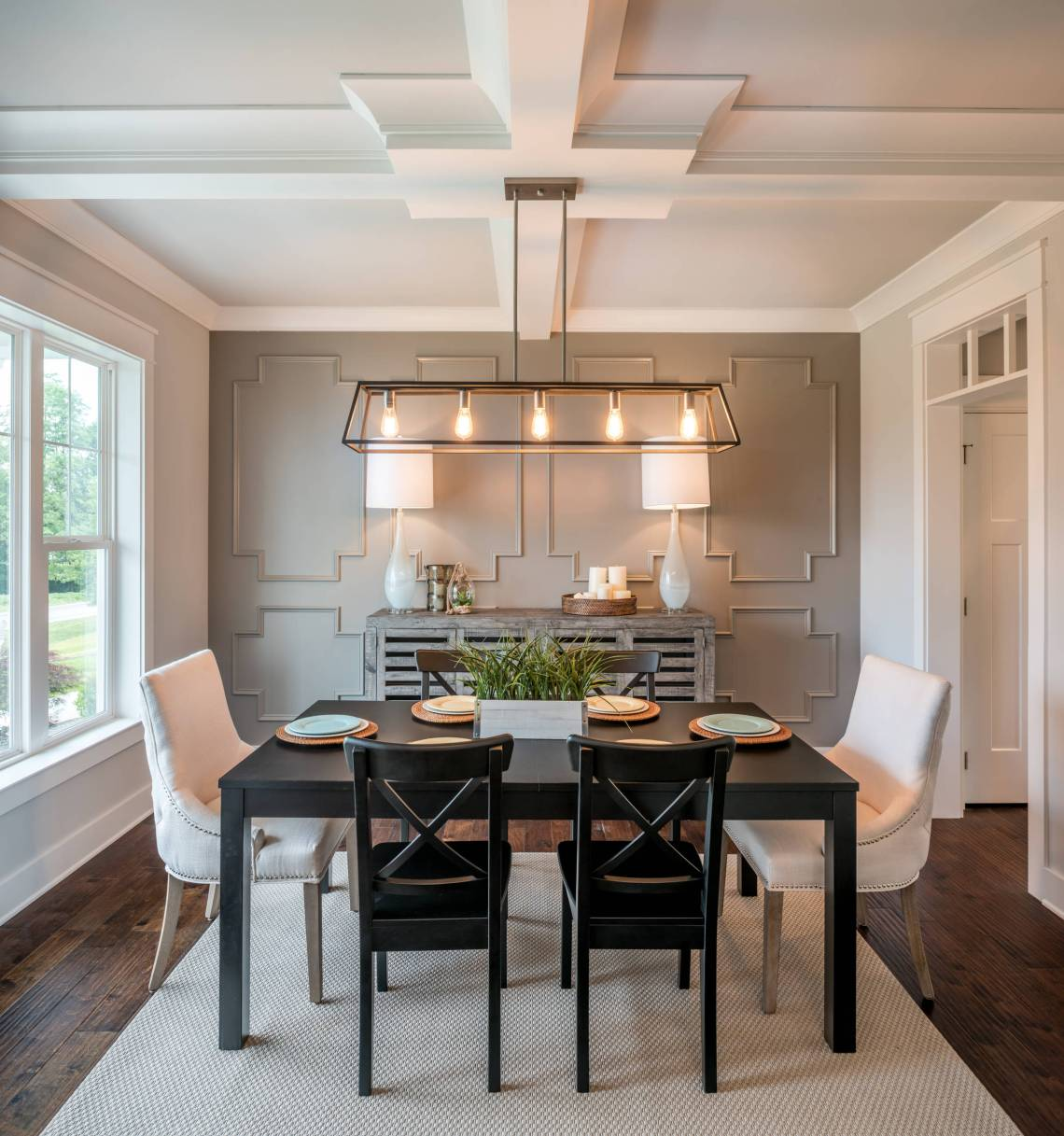 75 Beautiful Farmhouse Dining Room Pictures Ideas July 2021 Houzz