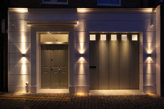 entrance lighting design contemporary