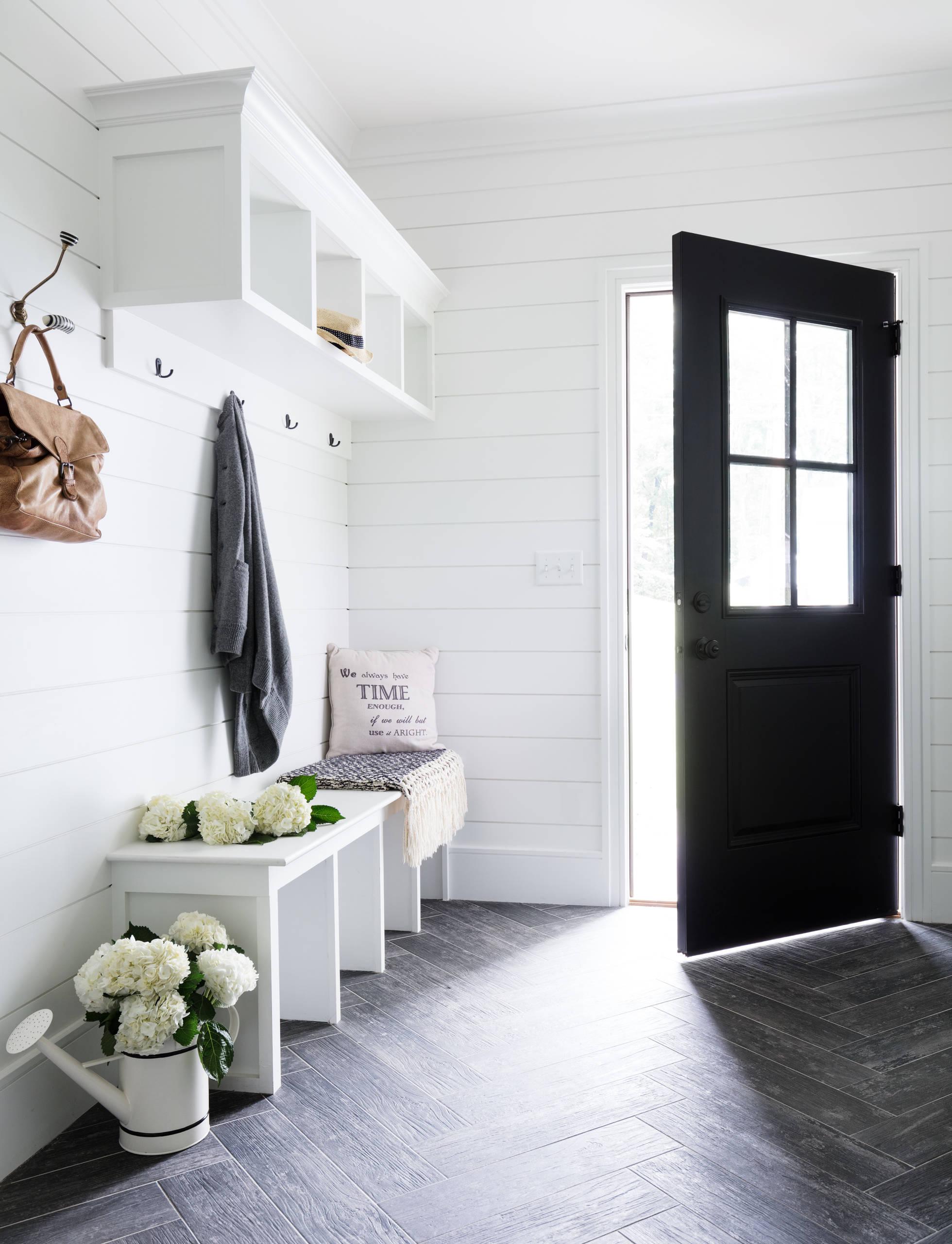 75 beautiful porcelain tile entryway
