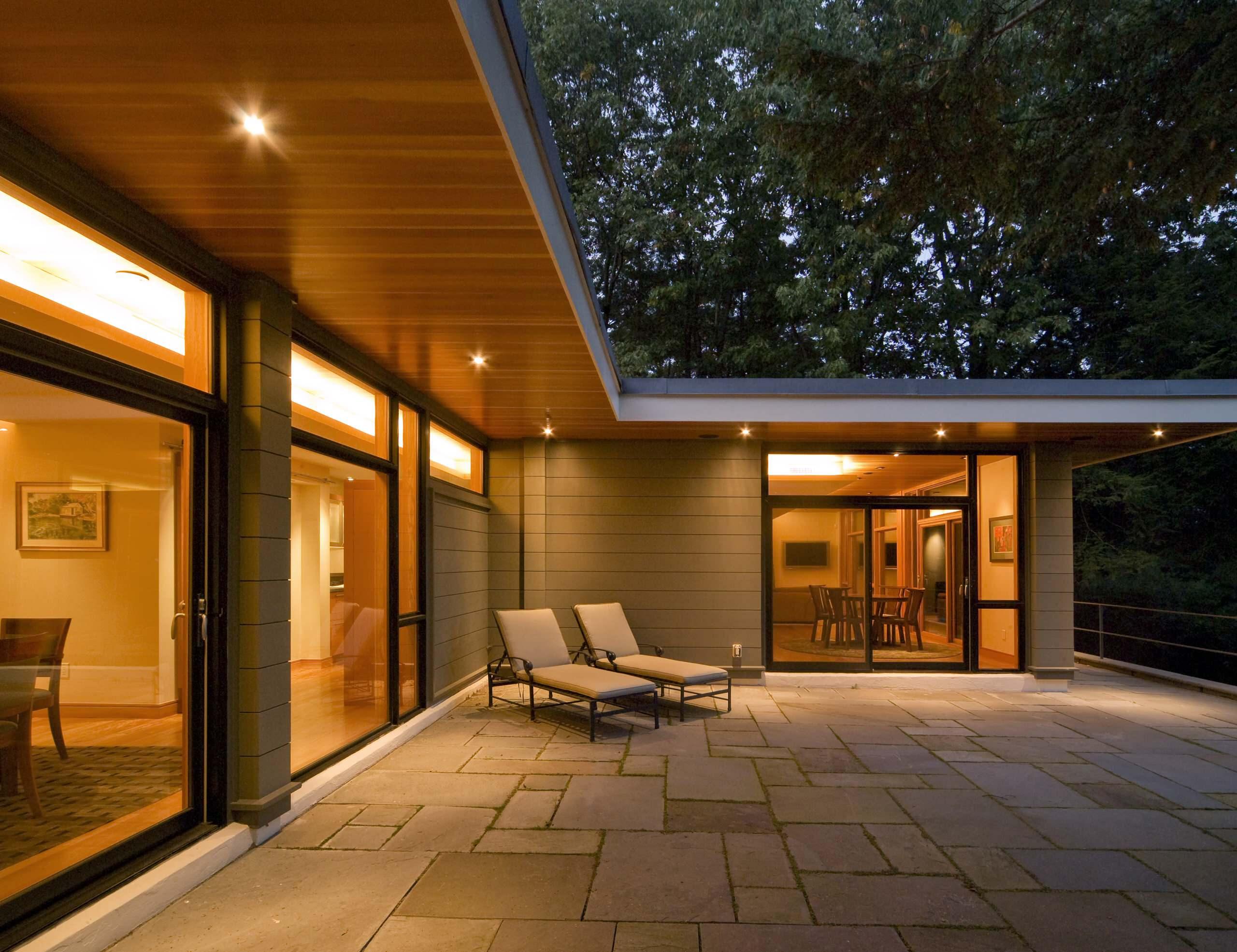 exterior soffit lighting houzz
