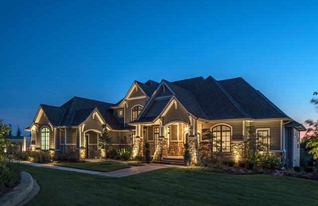 architectural outdoor security lighting