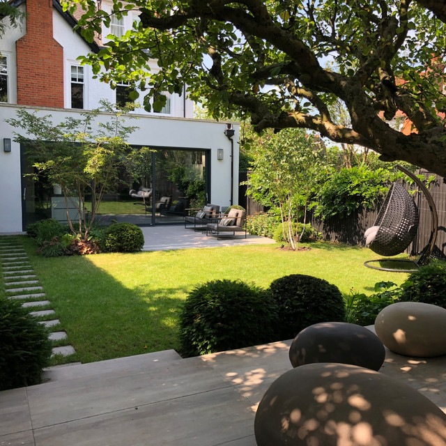 How To Design A North Facing Shady Garden Houzz Uk
