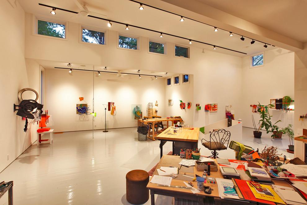 artist studio modern home office