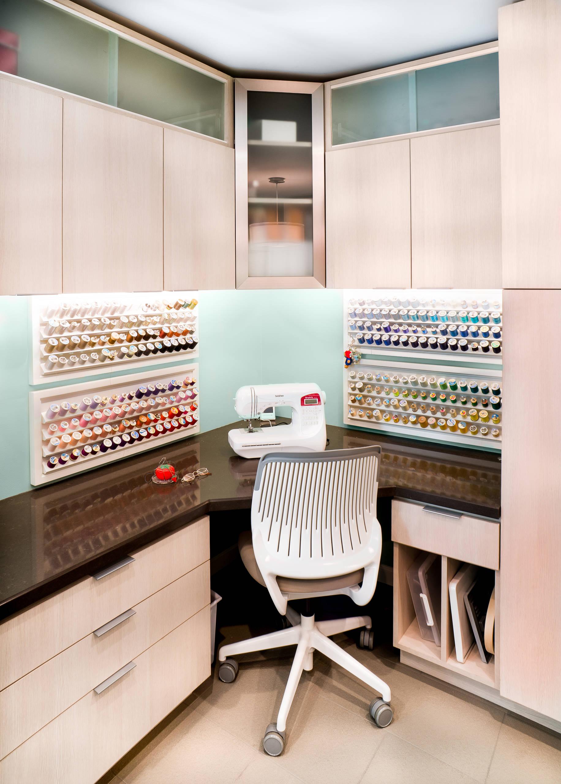 beige craft room pictures ideas