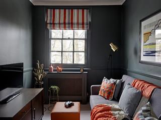 chambre d ado avec un mur noir photos