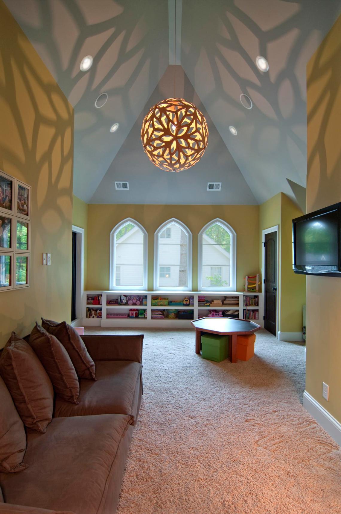 Vaulted Ceiling Kids Room Ideas Photos Houzz