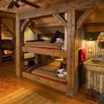 Rustic Cabin Bunk Bed Houzz