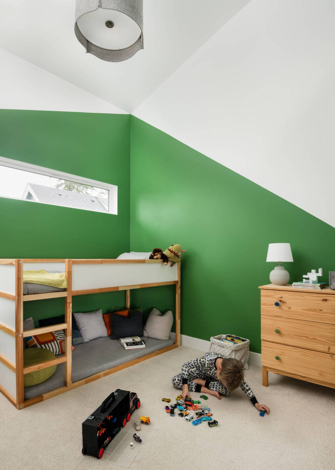 Two Tone Paint Kids Room Ideas Photos Houzz