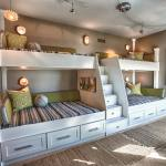 Built In Bunk Bed Stairs Houzz