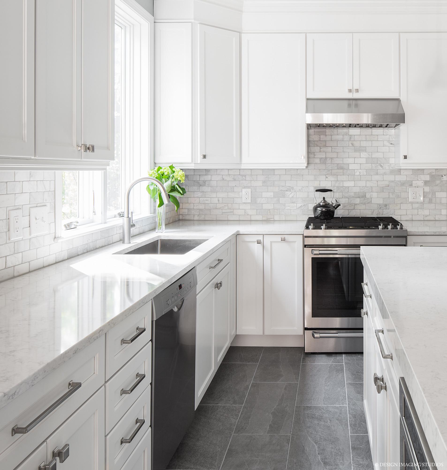 75 Beautiful White Kitchen Backsplash Pictures Ideas Houzz
