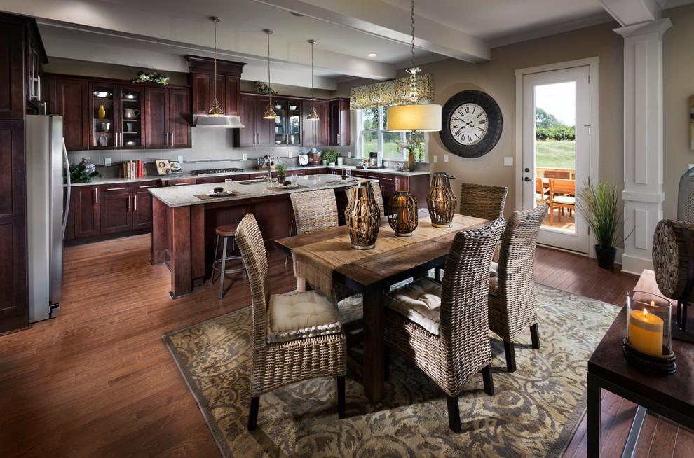 Bear Creek Neighborhood Model Home - Traditional - Kitchen ... on Model Kitchen Photo  id=35681
