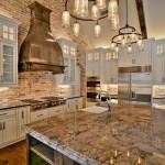 75 Beautiful Farmhouse Kitchen With Brown Backsplash Pictures Ideas December 2020 Houzz