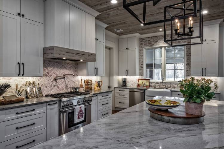 75 Beautiful Rustic Gray Kitchen Pictures Ideas January 2021 Houzz