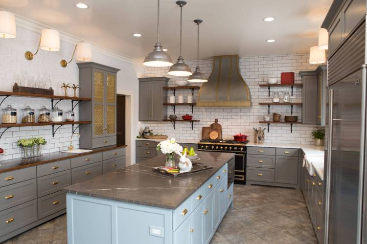 75 Beautiful Kitchen With Limestone Countertops Pictures Ideas January 2021 Houzz