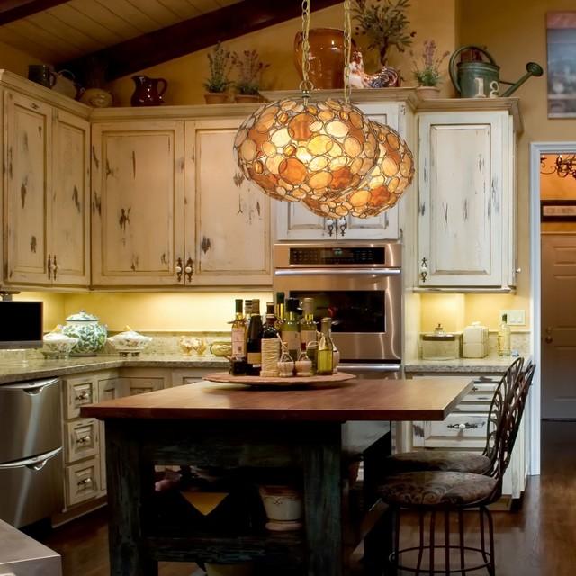 farmhouse lighting country kitchen