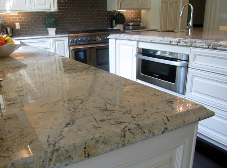 Granite And Engineered Quartz Countertops Traditional Kitchen Cleveland By Great Lakes Granite Works