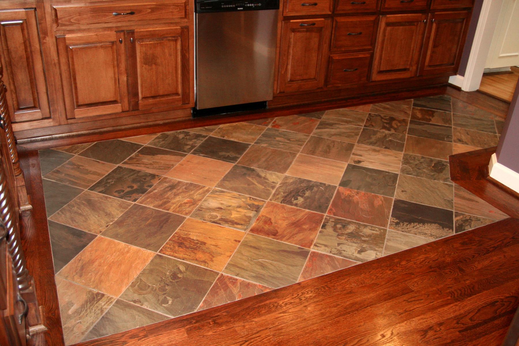 tile inlay floor houzz