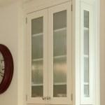 Ribbed Glass Door Houzz