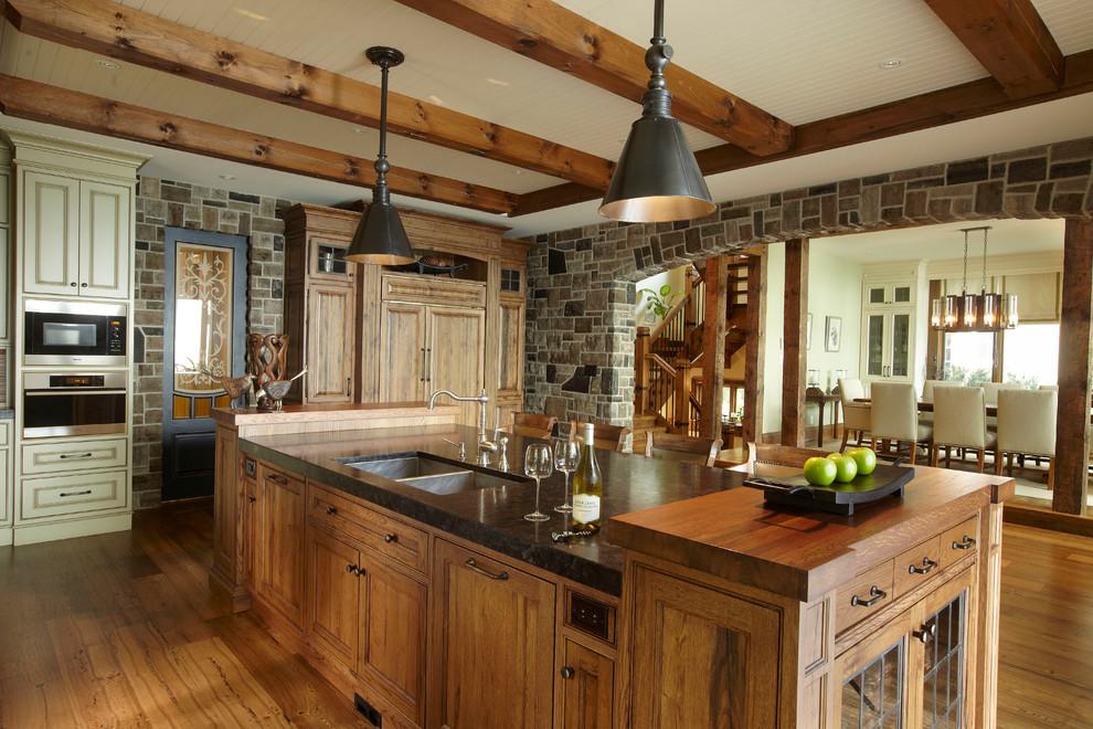 cottage rustic kitchen toronto