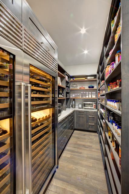 Walk In Pantry Modern Kitchen Sacramento By Mak Design Build Inc