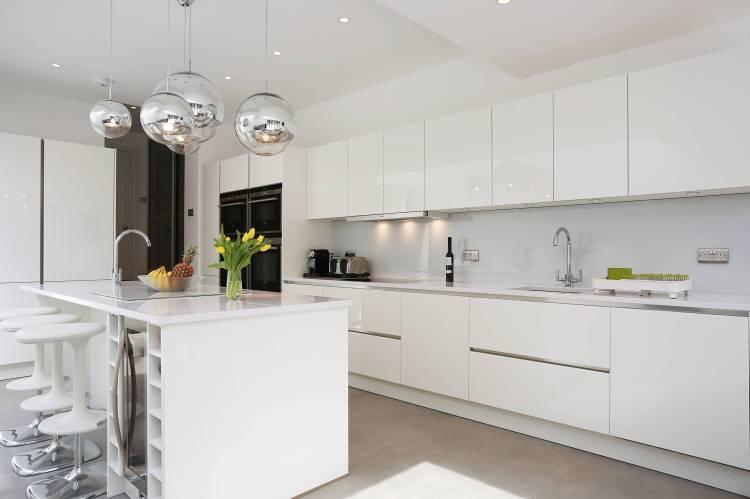 White High Gloss Kitchen Houzz