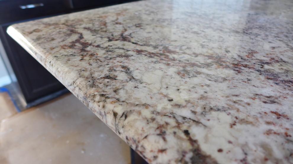 white springs granite kitchen modern