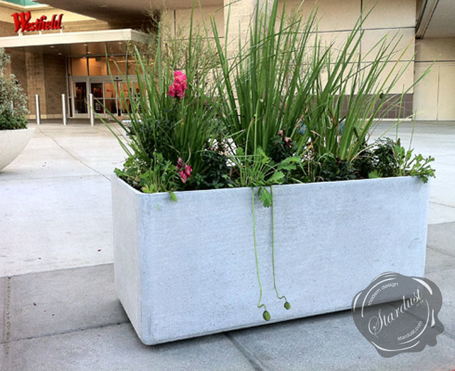 modern landscape and patio design with