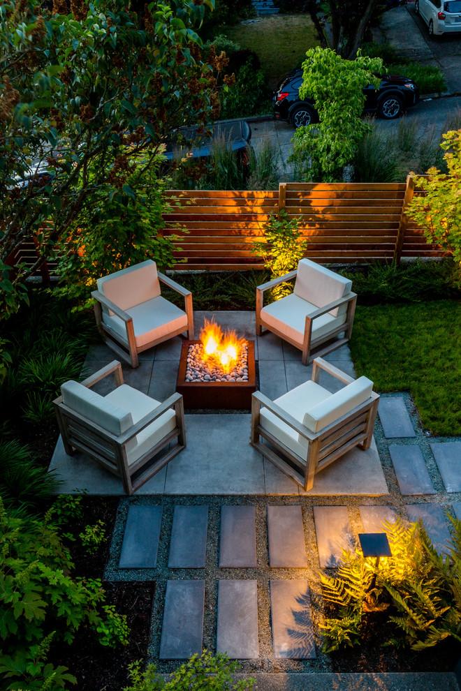 seattle cozy patio contemporary