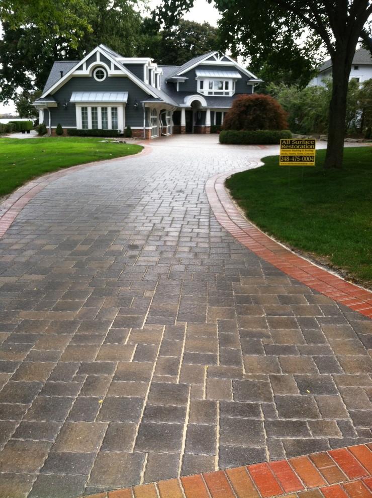 wet look brick paver sealer glossy