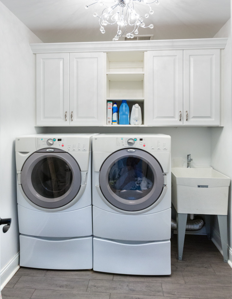 75 beautiful small laundry room with an
